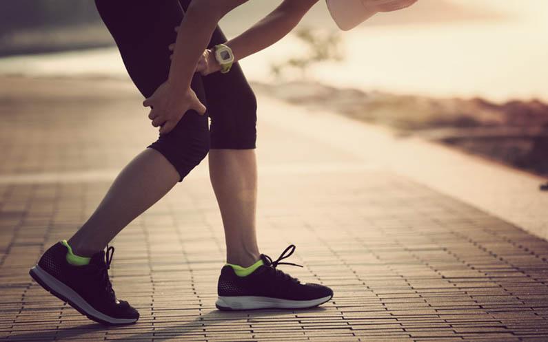 Trouvez le coupable lors d'une blessure chronique sportive