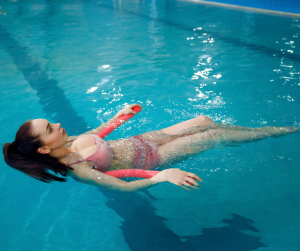 soulagement douleur dans l'eau