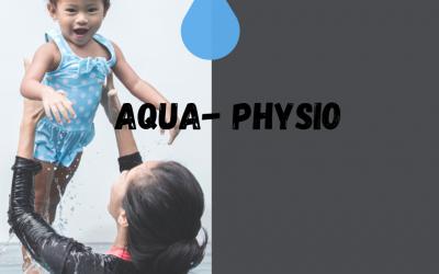 Aqua-Physio: Initiation de votre enfant à l'eau (4 mois à 3 ans) et exercice pour vos abdos!